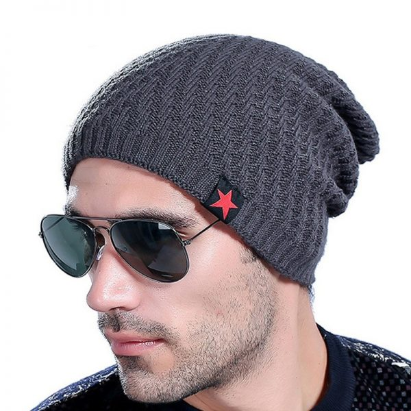 2017 Brand Men s Knit Hat Beanies Men Winter Hats For Men Bonnet Skullies Caps Women 1