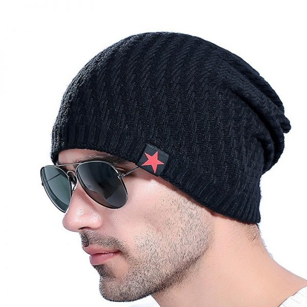 2017 Brand Men s Knit Hat Beanies Men Winter Hats For Men Bonnet Skullies Caps Women