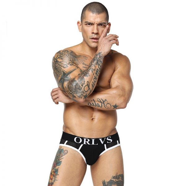 85 Brand Brand Sexy Men Briefs Men Underwear Men Breathable Briefs Men Slip Cueca Male Panties 3