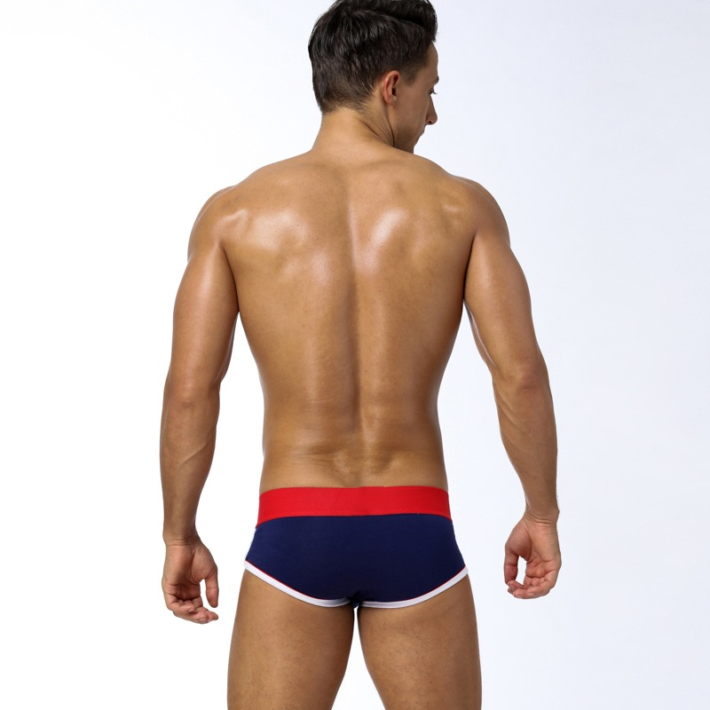 85 Brand Fashion hot elastic popular brand BS Underwear breathable cotton sexy gay spandex cueca hombr 7