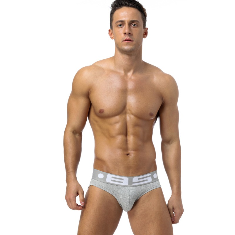 85 Brand Fashion hot elastic popular brand BS Underwear breathable cotton sexy gay spandex cueca hombr