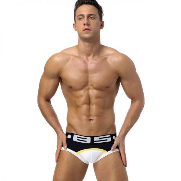 85 Brand Men Underwear Sexy Men Briefs Breathable Mens Slip Cueca Male Panties Underpants Briefs 5