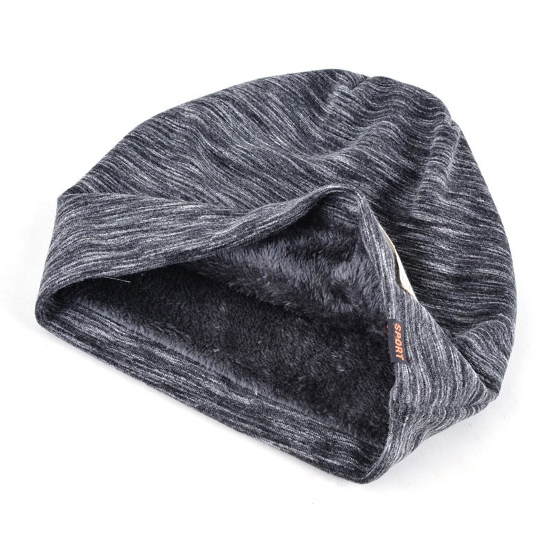Autumn Hip hop cap Winter beanies men hats Rock logo Casual Cap Turban hat bonnet plus 1