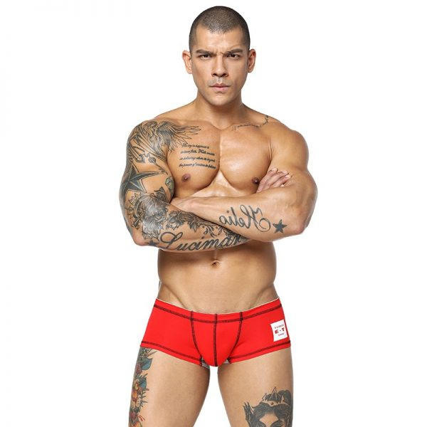 CETHIA Brand Male Underwear Cotton Men Underwear Boxers Shorts Solid Color Men Boxers Cueca Underpants Underwear 5