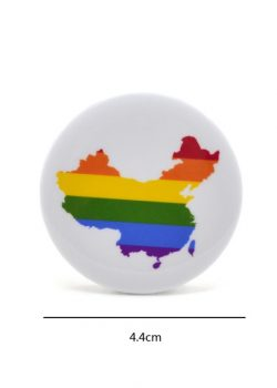 Lychee 1 piece New Arrival Metal Plastic Gay Pride Rainbow Brooch Pin Anti discrimination Badge.jpg 640x640