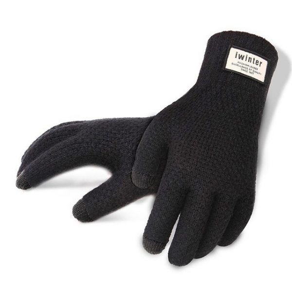 Men Knitted Gloves Touch Screen High Quality Male Thicken Warm Gloves Winter Autumn Men Mitten Men.jpg 640x640
