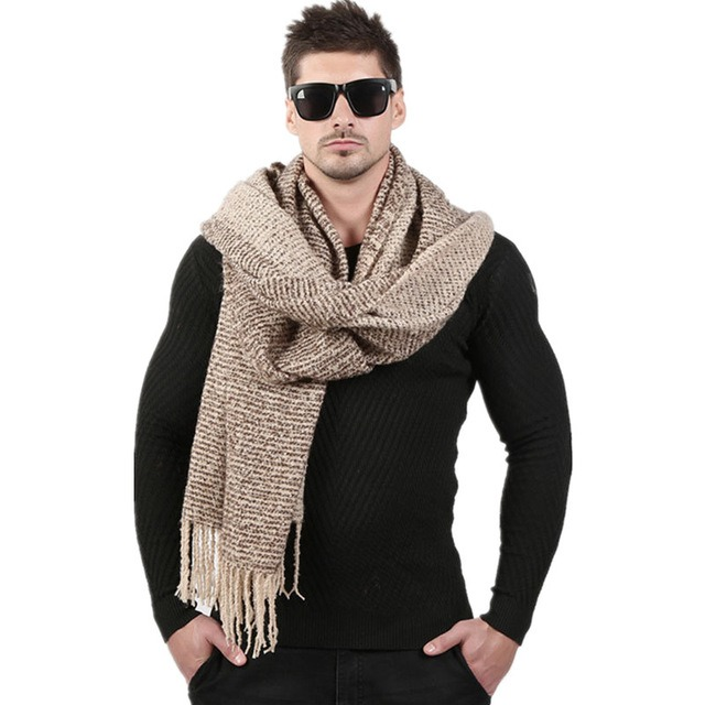 Newest 70cm 200cm Men Fashion Design Scarves Men Winter Wool Knitted Cashmere Scarf Couple s High 2.jpg 640x640 2