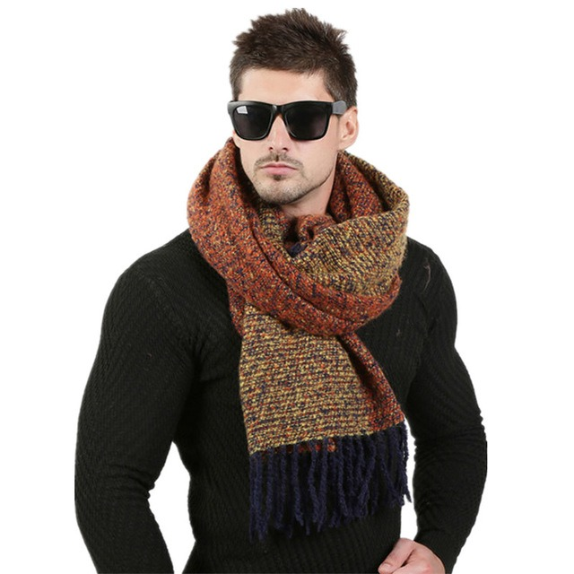 Newest 70cm 200cm Men Fashion Design Scarves Men Winter Wool Knitted Cashmere Scarf Couple s High 3.jpg 640x640 3