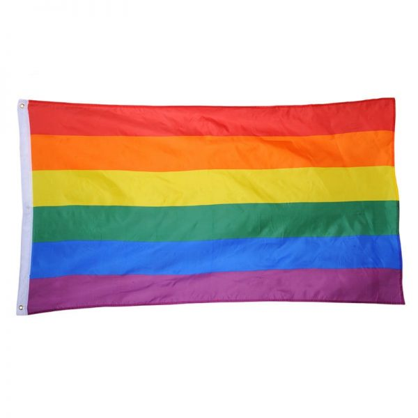 Rainbow Flag Colorful Rainbow Peace Flags Banner LGBT Pride LGBT Flag Lesbian Gay Parade Flags Home 1
