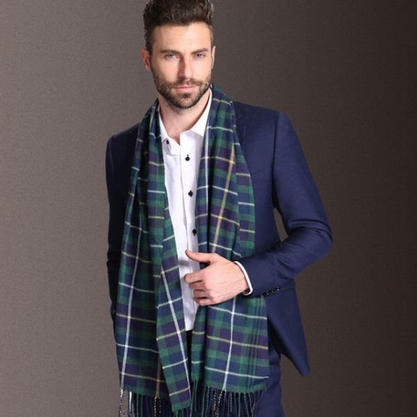 SORRYNAM 2018 New Europe Fashion Shawl Scarves Men Winter Warm Tartan Scarf Business Sjaal Plaid Modal 9.jpg 640x640 9