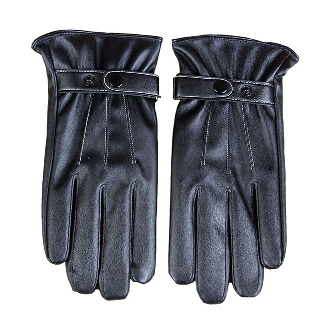 Stylish Mens Touch Screen Leather Gloves Winter Keep Warm Windproof Driving Guantes Mittens Male Black Brown.jpg 640x640