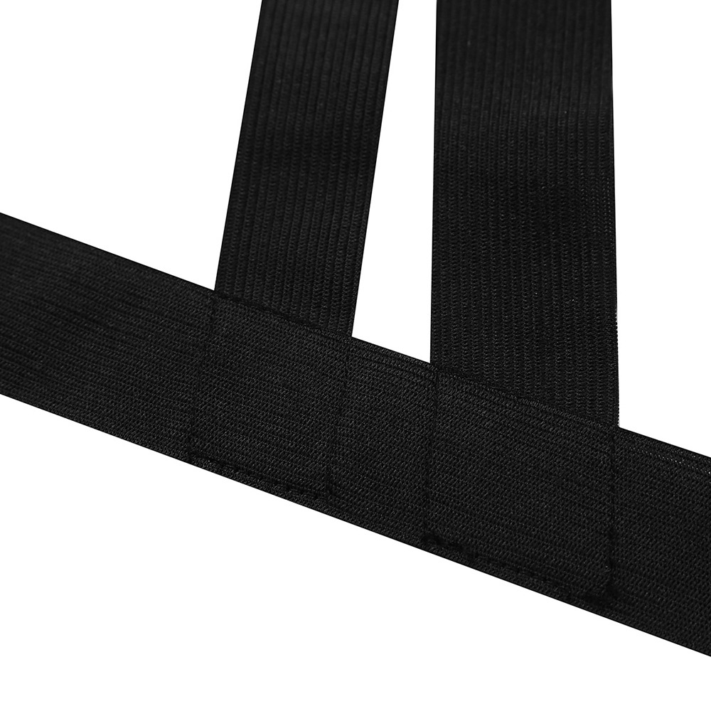 iEFiEL 2017 New Arrival Men Lingerie Nylon Halter Elastic NylonBody Chest Harness Bondage Belt Wetlook for 3