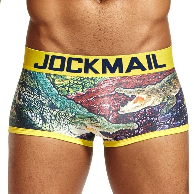 JOCKMAIL Brand Digital printed short boxer calcinha Trunks Sexy Gay underwear calzoncillos hombre boxer marca cueca.jpg 640x640