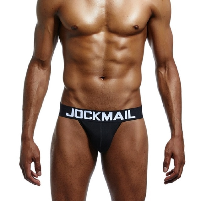 JOCKMAIL Brand Men Jockstraps Cotton Sexy Male Backless Buttocks tanga hombre G string Thongs Men s 24.jpg 640x640 24