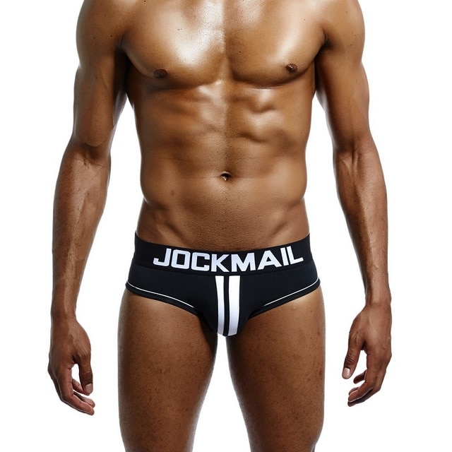 JOCKMAIL Brand Men Underwear open back Sexy DOUBLE PIPING BOTTOMLESS BRIEF Cotton Men Brief Backless Buttocks.jpg 640x640