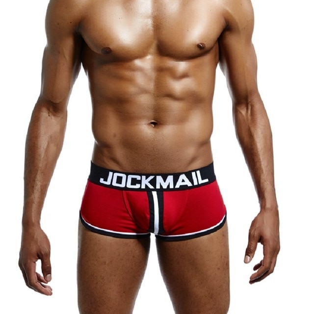 JOCKMAIL Brand Men open back underwear jockstrap sexy sissy panties Bottomless Men boxer shorts Cotton Backless 2.jpg 640x640 2