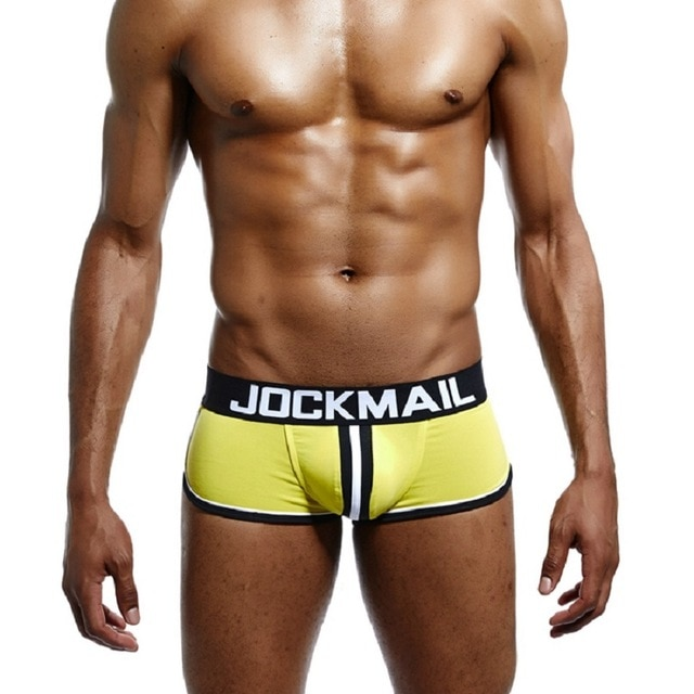 JOCKMAIL Brand Men open back underwear jockstrap sexy sissy panties Bottomless Men boxer shorts Cotton Backless 3.jpg 640x640 3