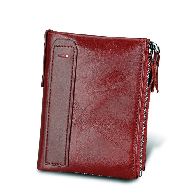 100 Genuine Leather Men Wallet Small Zipper Pocket Men Wallets Portomonee Male Short Coin Purse Brand 4.jpg 640x640 4