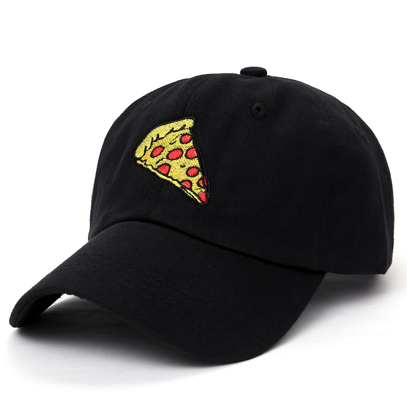 2017 new pizza embroidery Baseball Cap Trucker Hat For Women Men Unisex Adjustable Size dad cap 1