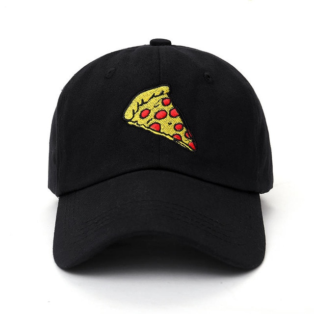 2017 new pizza embroidery Baseball Cap Trucker Hat For Women Men Unisex Adjustable Size dad cap 1.jpg 640x640 1