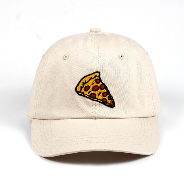 2017 new pizza embroidery Baseball Cap Trucker Hat For Women Men Unisex Adjustable Size dad cap 3.jpg 640x640 3