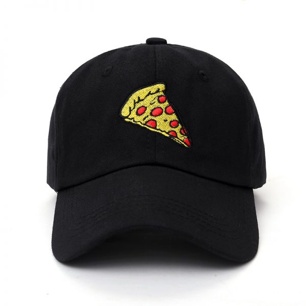 2017 new pizza embroidery Baseball Cap Trucker Hat For Women Men Unisex Adjustable Size dad cap