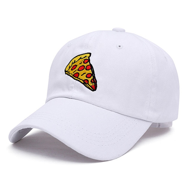 2017 new pizza embroidery Baseball Cap Trucker Hat For Women Men Unisex Adjustable Size dad cap.jpg 640x640