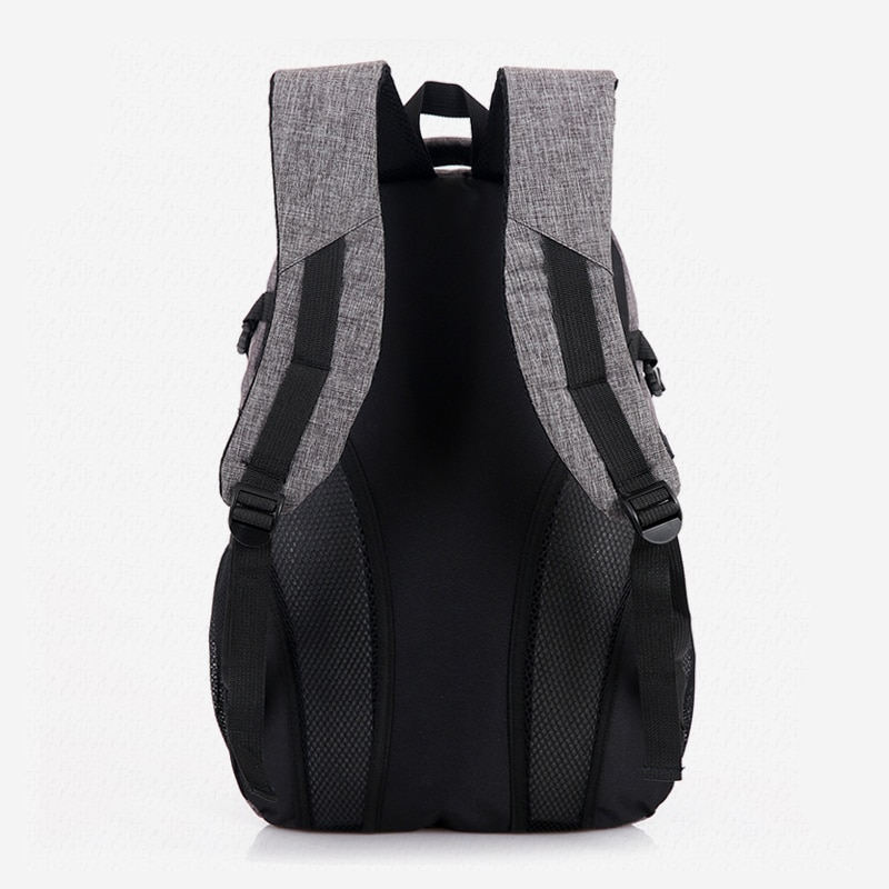 2018 New Fashion Men s Backpack Bag Male Polyester Laptop Backpack Computer Bags high school student 1