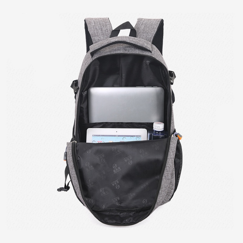 2018 New Fashion Men s Backpack Bag Male Polyester Laptop Backpack Computer Bags high school student 3