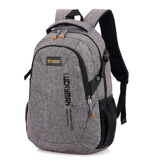 2018 New Fashion Men s Backpack Bag Male Polyester Laptop Backpack Computer Bags high school student 3.jpg 640x640 3