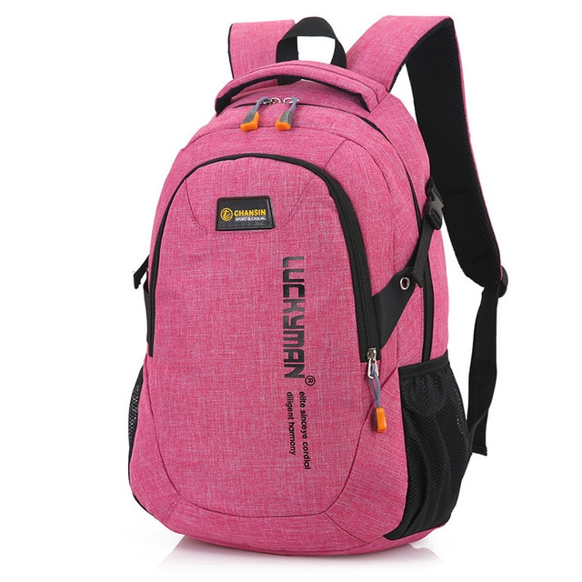2018 New Fashion Men s Backpack Bag Male Polyester Laptop Backpack Computer Bags high school student 4.jpg 640x640 4