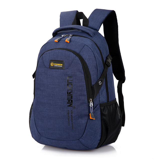 2018 New Fashion Men s Backpack Bag Male Polyester Laptop Backpack Computer Bags high school student 5.jpg 640x640 5