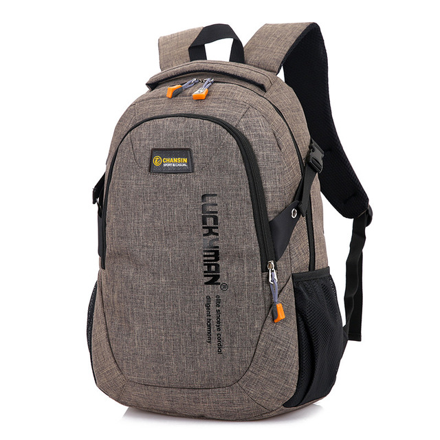 2018 New Fashion Men s Backpack Bag Male Polyester Laptop Backpack Computer Bags high school student 6.jpg 640x640 6