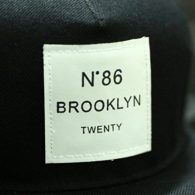 2018 New Men Womens BROOKLYN Letters Solid Color Patch Baseball Cap Hip Hop Caps Leather Sun 2