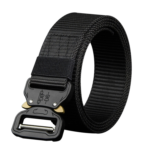 COWATHER 110 130 150 170cm long big size new nylon material mens belt military outdoor male 4.jpg 640x640 4