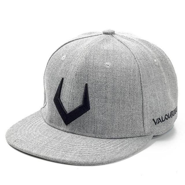 High Quality Grey And Black Wool Snapback 3D Russian Antler V Letter Embroidery Hip Hop Cap 1.jpg 640x640 1
