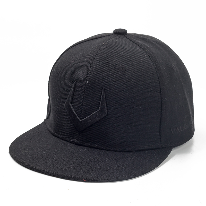 High Quality Grey And Black Wool Snapback 3D Russian Antler V Letter Embroidery Hip Hop Cap 2