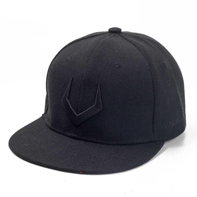 High Quality Grey And Black Wool Snapback 3D Russian Antler V Letter Embroidery Hip Hop Cap.jpg 640x640