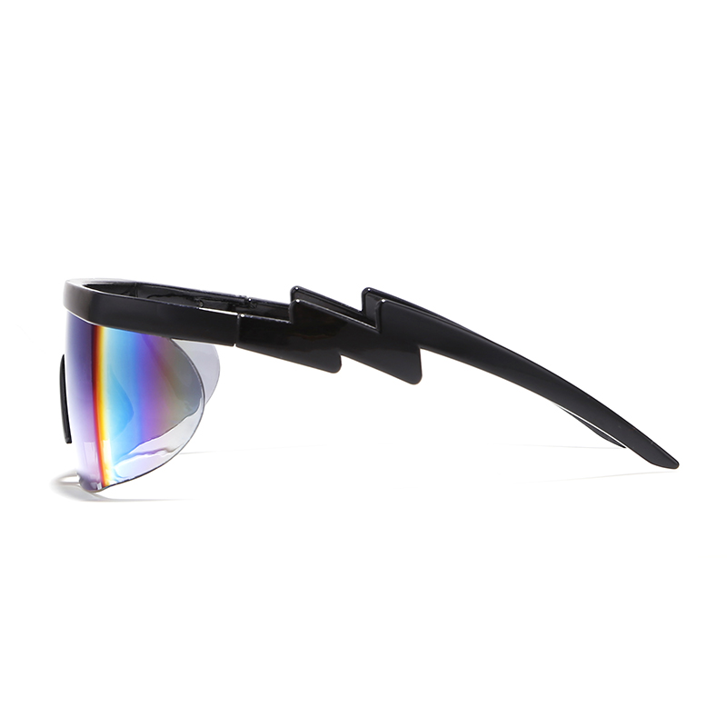 KDEAM Superstar Sherman s Brodie Sunglasses Men Oversized Shades Full Colors Sun Glasses One piece Lens 3