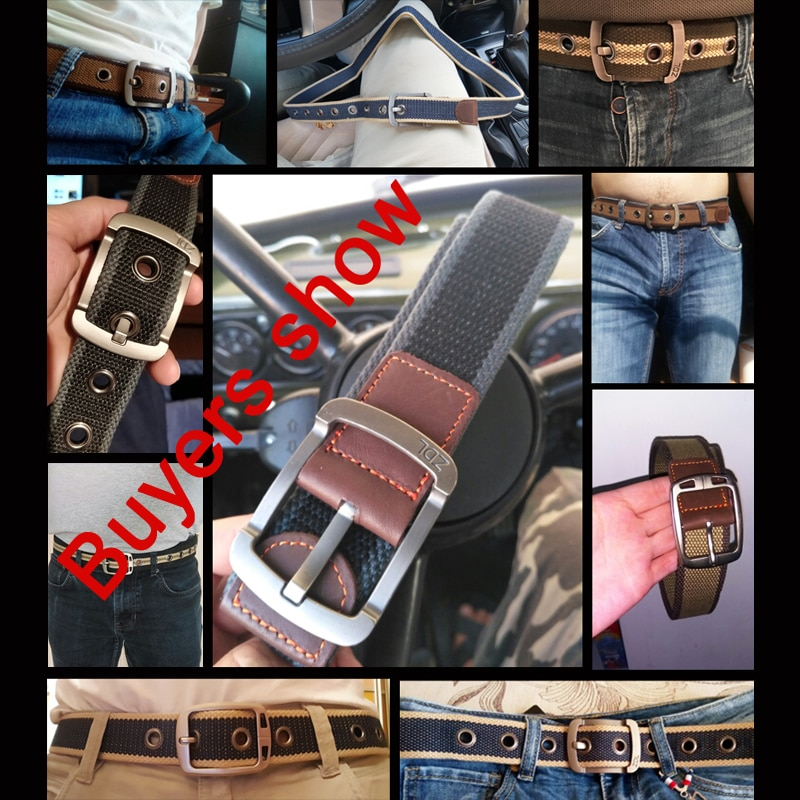 MEDYLA military belt outdoor tactical belt men women high quality canvas belts for jeans male luxury 4
