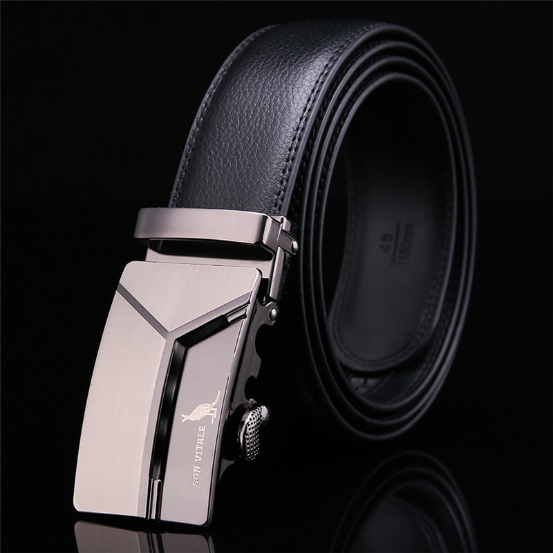 Men s Genuine Leather Belt High Quality New Designer Belts Men Luxury Strap Male Waistband Fashion 1