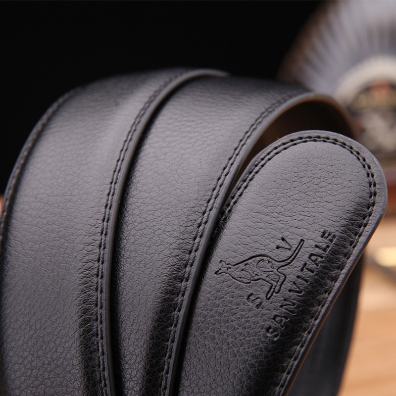 Men s Genuine Leather Belt High Quality New Designer Belts Men Luxury Strap Male Waistband Fashion 2