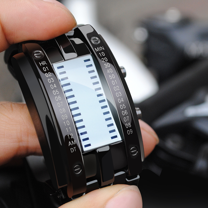 SKMEI Fashion Creative Watches Men Luxury Brand Digital LED Display 50M Waterproof Lover s Wristwatches Relogio 2