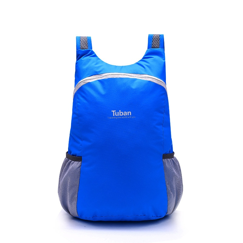 TUBAN Lightweight Nylon Foldable Backpack Waterproof Backpack Folding Bag Portable Men Women Backpack for Travel 4