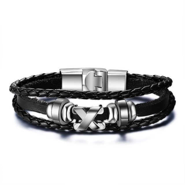 Vnox Lucky Vintage Men s Leather Bracelet Playing Cards Raja Vegas Charm Multilayer Braided Women Pulseira 1.jpg 640x640 1