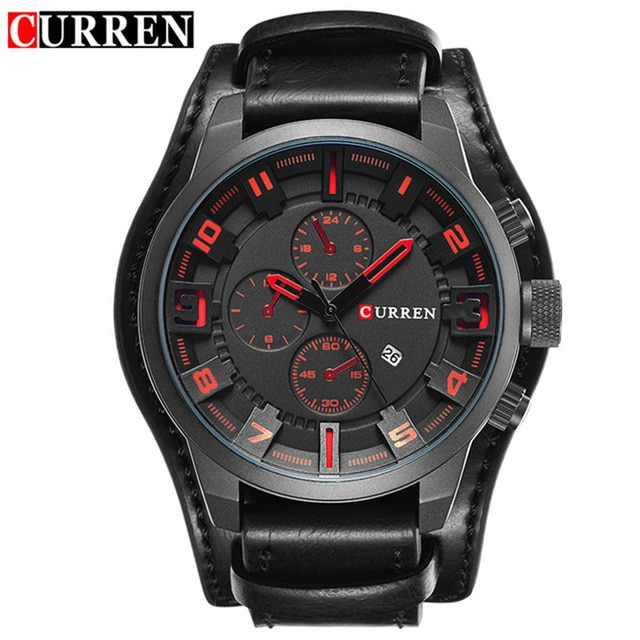 relogio masculino CURREN Watch Men Military Quartz Watch Mens Watches Top Brand Luxury Leather Sports Wristwatch.jpg 640x640